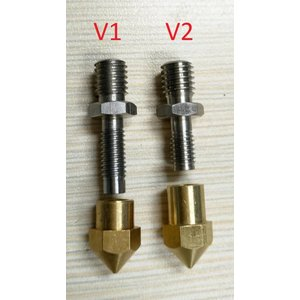 CreatBot CreatBot Stainless steel Nozzle 0.4 mm V1