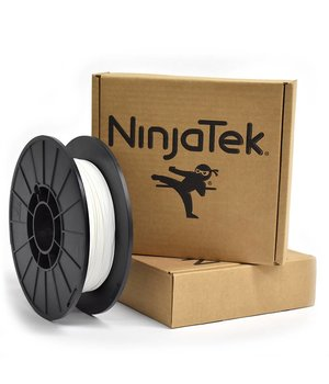 NinjaTek NinjaFlex Filament  - 1.75mm - 0.5 kg - Snow White