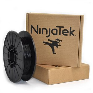 NinjaTek NinjaFlex Filament  - 1.75mm - 0.5 kg - Midnight Black
