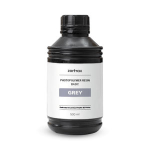 Zortrax Zortrax UV Resin - Basic - 500ml - Grey