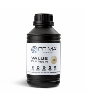 PrimaCreator PrimaCreator Value UV / DLP Resin - 500 ml - Skin