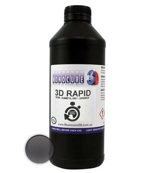 Monocure3D Monocure 3D Rapid Resin - 1 liter - Gunmetal Grey