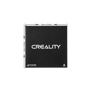 Creality Creality 3D Ender-3 Glass Plate with Special Chemical Coating 235 x 235 mm