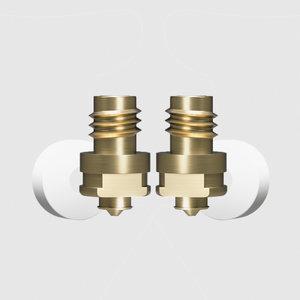 Zortrax Zortrax Nozzle set for M-Series Plus M200 Plus & M300 Plus 0.3 & 0.6 mm