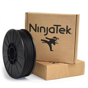 NinjaTek NinjaFlex Filament  - 2.85mm - 1 kg - Midnight Black