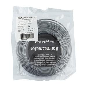 PrimaCreator EasyPrint PETG Sample - 1.75mm - 50 g - Solid Silver