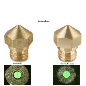 PrimaCreator PrimaCreator Volcano Compatible Hardened Nozzle 1,0 mm - 1,75 mm - 1 pcs