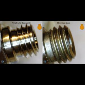 PrimaCreator PrimaCreator Volcano Compatible Brass Nozzle 0,6 mm - 1,75 mm - 1 pcs