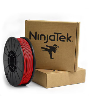 NinjaTek NinjaFlex Filament  - 2.85mm - 1 kg - Fire Red