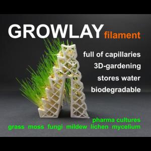 Lay-Filaments LayFilaments GROWLAY Filament - 1.75mm - 250 g - White