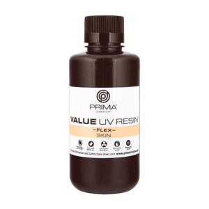 PrimaCreator PrimaCreator Value Flex UV Resin - 500 ml - Skin