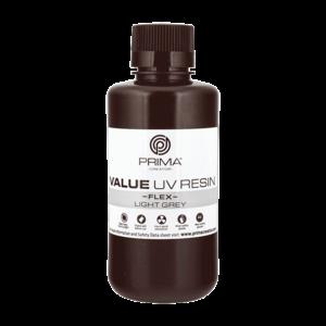 PrimaCreator PrimaCreator Value Flex UV Resin - 500 ml - Light Grey