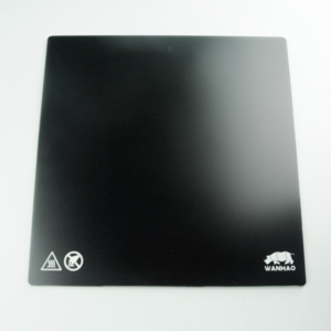 Wanhao Wanhao Duplicator 9 Mark 2 Carbon Crystal Glass Plate 325 x 325 mm