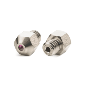 PrimaCreator MK8 Nickel Plated Copper Nozzle with Ruby 0,4 mm - 1 pcs