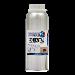 Monocure3D Monocure 3D - Rapid Dental Resin - 1,25 l - Tan