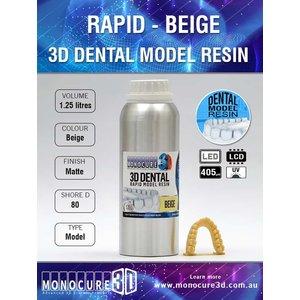 Monocure3D Monocure 3D - Rapid Dental Resin - 1,25 l - Beige