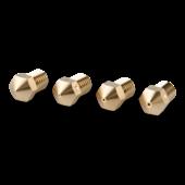 RepRap M6 Brass Nozzle 3mm -  0,4 mm - 4 pcs