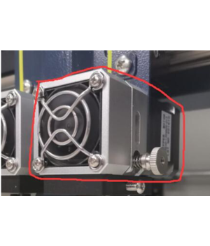 CreatBot CreatBot Extruder Box with motor - D/F-series - New design