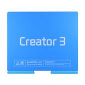 Flashforge Creator3 Flexible Spring Steel Build Plate