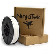 NinjaTek Cheetah Flexible - 1.75mm - 1 kg - Snow White