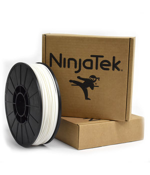 NinjaTek NinjaFlex Filament  - 2.85mm - 1 kg - Snow White
