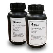 XYZprinting UV Resin Rigid - 2 x 500 ml Bottles