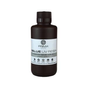 PrimaCreator PrimaCreator Value Water Washable UV Resin - 500 ml - Light Grey