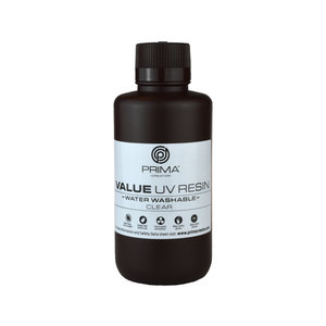 PrimaCreator PrimaCreator Value Water Washable UV Resin - 500 ml - Clear