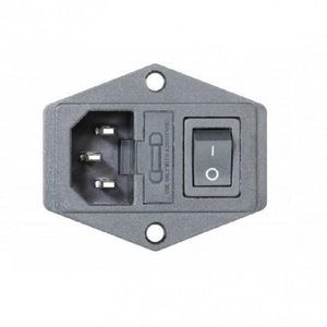 Zortrax 230V Power Socket with On/Off Switch and Fuse
