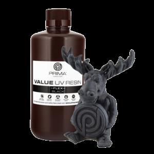 PrimaCreator PrimaCreator Value Flex UV Resin - 1000 ml - Black
