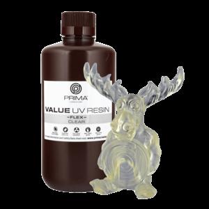 PrimaCreator PrimaCreator Value Flex UV Resin - 1000 ml - Clear