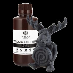PrimaCreator PrimaCreator Value Flex UV Resin - 500 ml - Black
