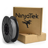 NinjaFlex Filament  - 1.75mm - 0.5 kg - Steel