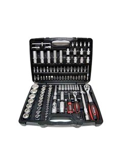 Weber Tools Weber Tools Doppenset 1/4'' & 1/2'' Aansluiting - 108-Delig