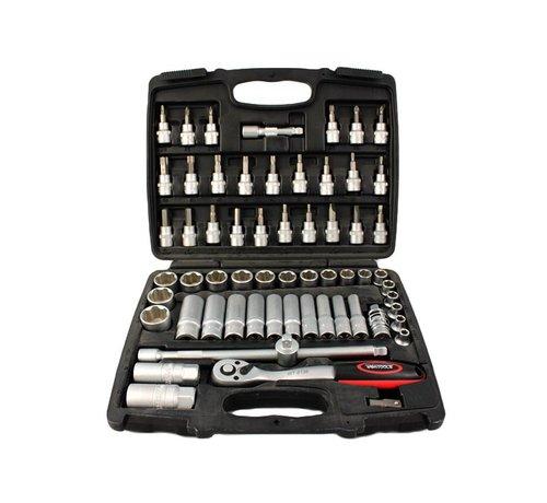 Weber Tools Weber Tools Doppenset 3/8'' - 61-Delig