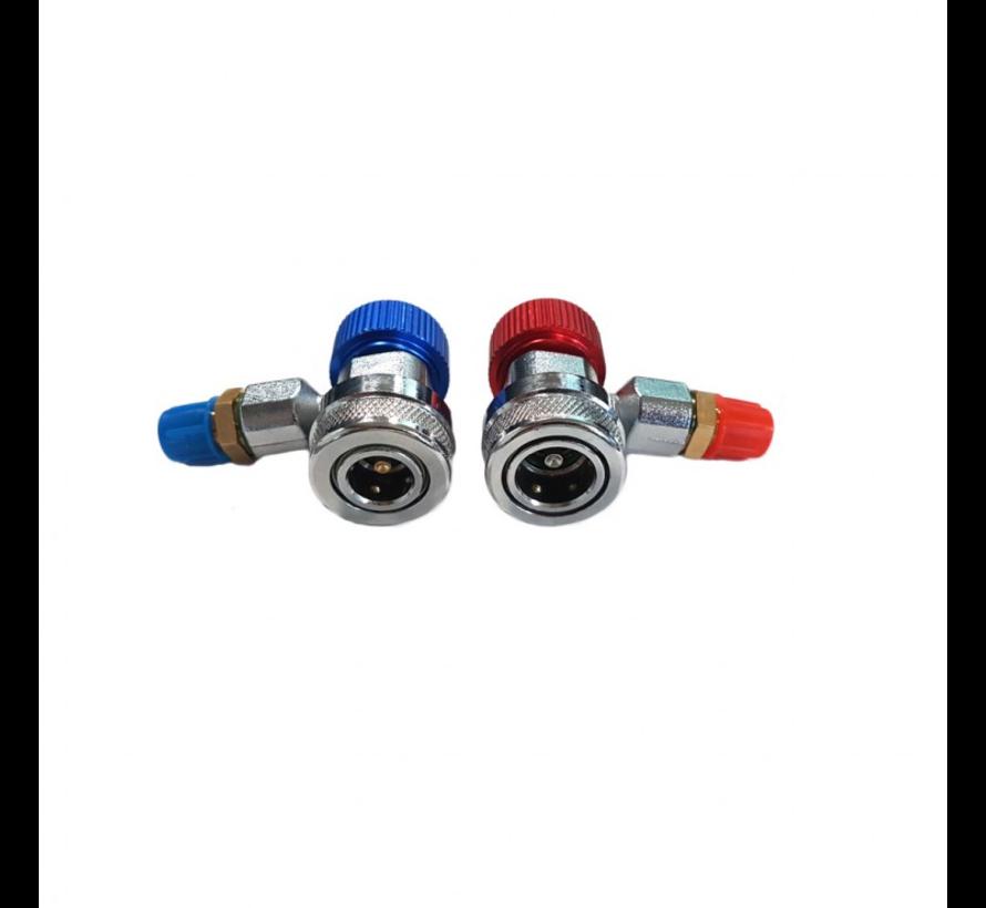 Weber Tools Airco vul connectors R134A