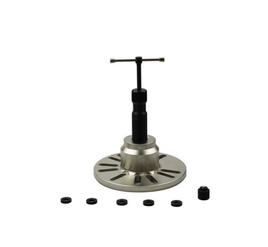 Weber Tools wielnaaftrekker hydraulisch XXL 12 ton