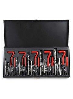 Weber Tools Weber Tools schroefdraad reparatieset M5-M12 131 delig