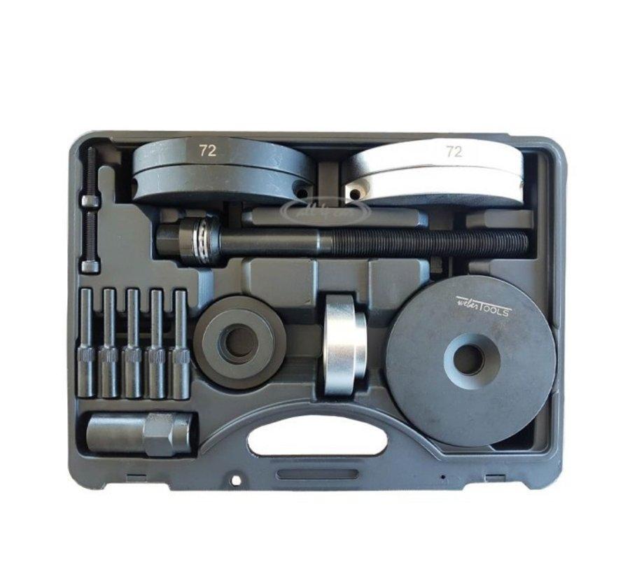 Weber Tools wiellager (de)montage set HBU 2.1 72mm