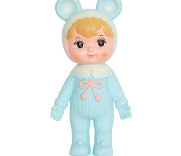 Lapin & ME Woodland doll: Blond and turquoise