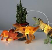 Disaster Design Lightstring Dinosaurs