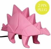 Disaster Design Lamp Dinosaur pink