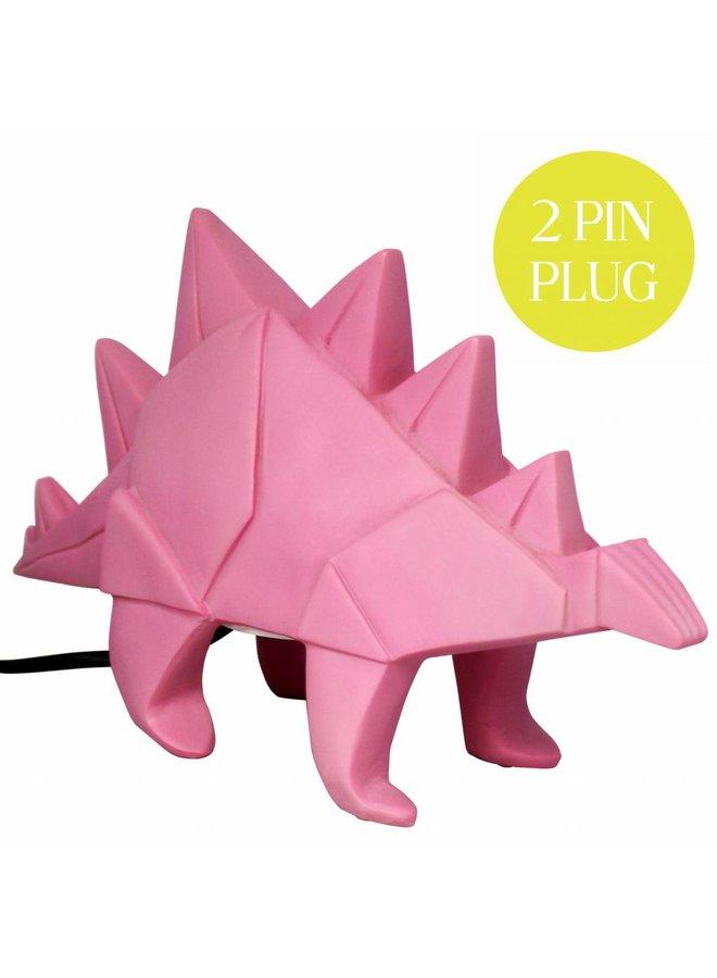 Lamp Dinosaur pink