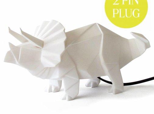 Disaster Design Lamp Dinosaurus wit- Disaster design