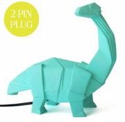 Disaster Design Lamp Dinosaur green