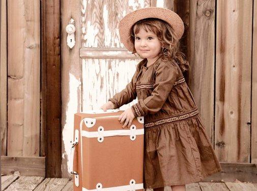 Olliella Suitcase Rust, see-ya