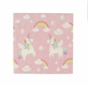 Sass & Belle Paper napkins: Unicorn 20pc