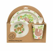Babysonly Gift box Dining set treetop friends