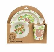 Sass & Belle Gift box Dining set treetop friends