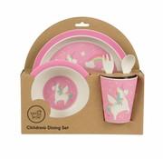 Sass & Belle Giftbox tableware set unicorn